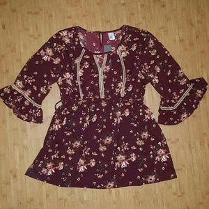 🍁NWT Times Two XL Floral Maternity Blouse🍁